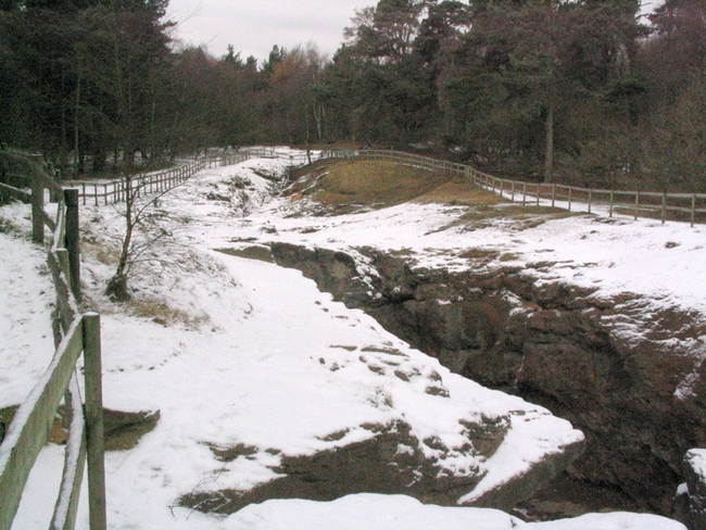 Engine Vein in winter