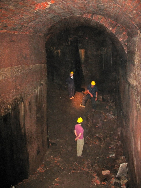 Williamson tunnels (stone quarries) in Liverpool's Edge Hill.