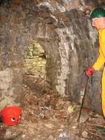 The coal cellar near the central wheel pit