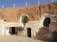 Cave houses in Tunisia
