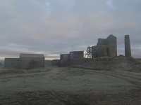 Picture 1: Magpie Mine in early morning mist