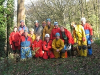 Picture 1: The team before starting underground