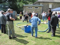 Picture 1: Testing the Earby pump  in a closed loop