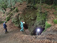 Picture 2: Entering the mine