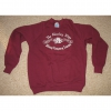 Sweatshirt with Alderley Mines logo printed in white (MAROON)